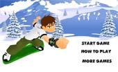 jeux de snowboard de ben 10