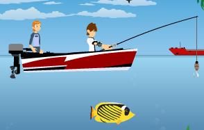 لعبة بن تن صائد السمك