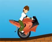 jeux de scooter de ben 10