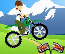 Jeux de moto avec ben 10