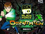 Jeu de bloque avec Ben 10